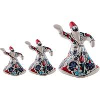 Quartz Ceramics El Yapımı Seramik Semazen Seti