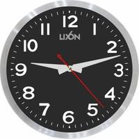 Lixon Duvar Saati 30Cm Metal 201-6 Siyah