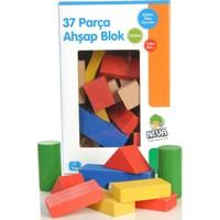 Neva Toys 681420 Ahşap Mini Blok 37 Pcs