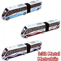Vardem 1:32 Çek - Bırak Metal Metrobüs Oyuncak