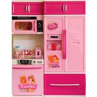 Vardem Fashion Buzdolap Oyuncak Mutfak Seti