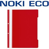 Noki Eco Telli Dosya 50 li Kırmızı 48288