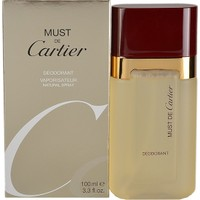 Cartier Must de Cartier Deodorant Spray 100ml