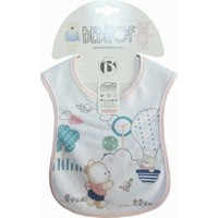 Bebitof 021 Bebek Mama Önlüğü - Pembe