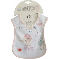 Bebitof 019 Bebek Mama Önlüğü - Pembe