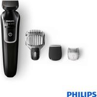 Philips 3000 Serisi Multigroom QG3329/15 Sakal için 4'ü 1 Arada Hassas Düzeltici