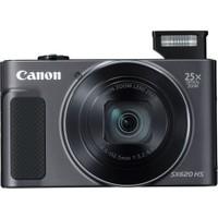 Canon Powershot SX620 HS Dijital Fotoğraf Makinesi - Siyah (Canon Eurasia Garantili)