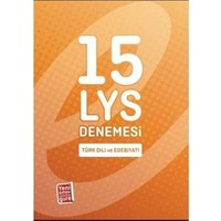 Endemik LYS Türk Dili ve Edebiyatı 1 Denemesi 15 li