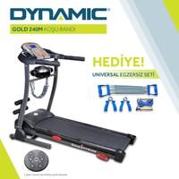 Dynamic Gold 240M Masajlı Motorlu V3 Koşu Bandı ve Universal Egzersiz Seti
