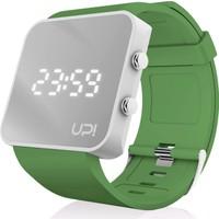 Upwatch White&Green Unisex Kol Saati
