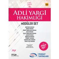 Murat Yayınları 2017 Adli Yargı Hakimliği Konu Anlatımlı Modüler 10 Kitap Set
