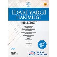 Murat Yayınları 2017 İdari Yargı Hakimliği Konu Anlatımlı Modüler 10 Kitap Set