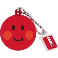 Emtec Sw102 8Gb Usb Bellek Smiley Red