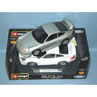 Burago Porsche Gt3 Metal Araba 1:24 Diecast Bljoux Collezine - Gri