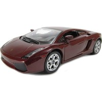 Burago Lamborghini Gallardo Metal Araba 1:24 Diecast Bljoux Collezine - Bordo