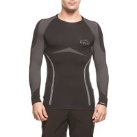 COLLE - Performans Uzun Kollu Termal Sweatshirt Siyah