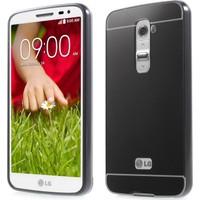 İmpashop LG G2 Aynalı Kılıf LG G2 Aynalı Bumper Çerçeve