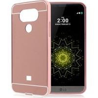 İmpashop LG G5 Aynalı Kılıf LG G5 Aynalı Bumper Çerçeve