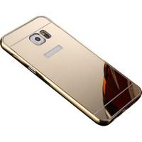 İmpashop Samsung Galaxy S6 Aynalı Kılıf Bumper Çerçeve