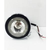 Space Angel'lı Sis Lambası - Şeffaf - 10cm - 12V / LASS202-1