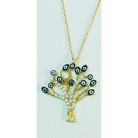Aydın Mücevherat 14 Ayar Hayat Ağacı Kolye