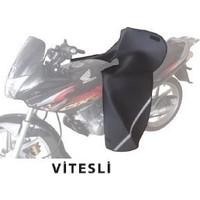 Armode Motosiklet Diz Örtüsü Deri Süngerli (Vitesli Motosiklet İçin)