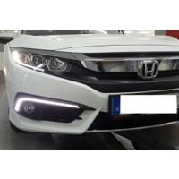 Honda Cıvıc 2016-2017 Fc5 Sis Ledi İnce - Sinyalli