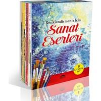 Sanat Eserleri Seti - 8 Kitap Takım - Renklendirmeniz İçin