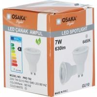 Osaka Light 7Watt-50watt GU-10 PRO SMD Led Ampül Beyaz