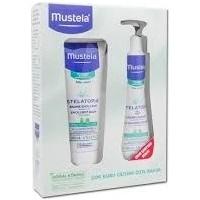 Mustela Stelatopia Emollient Cream 200 ml + Cleansing Cream 200 ml