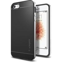 Spigen Apple iPhone Se/5S/5 Kılıf Neo Hybrid Satin Silver