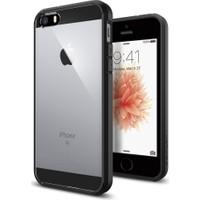 Spigen Apple iPhone Se/5S/5 Kılıf Ultra Hybrid Black