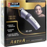 Astra Lux Rd-609 Traş Makinesi Şarjlı Gri
