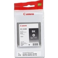 Canon 0895B001 Pfı-102Bk Sıyah Kartus (130 Ml)
