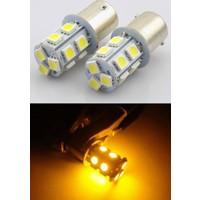 ModaCar 1156-93 Model 12 Sarı Ledli Stop Sinyal Ampülü 106021