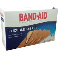 Band-Aid Flexible Fabric Yara Bandı 100Lü Tek Ölçü