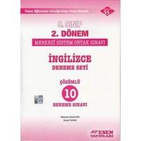 Esen 8. Sınıf 2. Dönem İngilizce Çözümlü 10 Deneme Sınavı