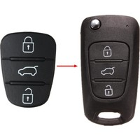Gsk Hyundai İ20 Anahtar Basma Tuşu 3 Tuş-2009-2012 Model