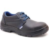 Foster Siyah Mavi Çelik Burun İş Ayakkabı