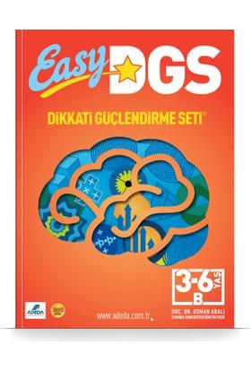 Easy Dikkati Güçlendirme Seti 3-6 Yaş B Kitapçığı - Osman Abalı