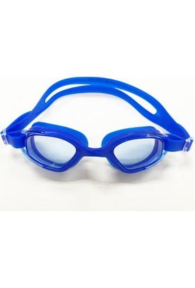 Delta GS3 Özel Dizayn Yetişkin Deluxe Yüzücü Gözlüğü Mavi