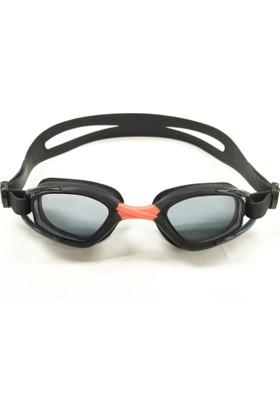 Delta GS3 Özel Dizayn Yetişkin Deluxe Yüzücü Gözlüğü Siyah - Kırmızı