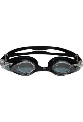 Delta Deluxe Yüzücü Gözlüğü Siyah - 8130