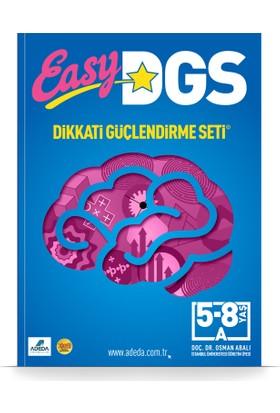 Easy Dikkati Güçlendirme Seti 5-8 Yaş A Kitapçığı - Osman Abalı