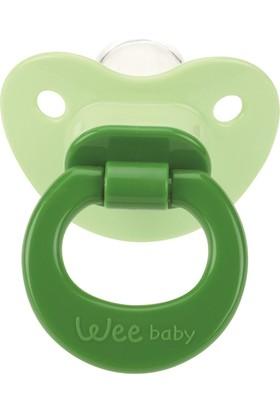 Wee Baby Damaklı Emzik 0-6 Ay - Yeşil