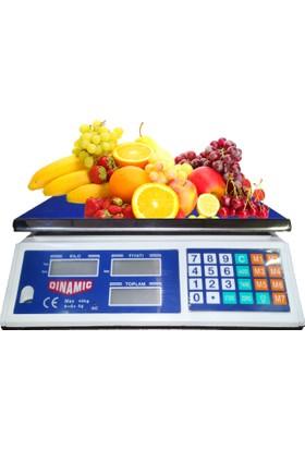 Dinamic 40 kg Elektronik Terazi
