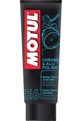 Prc E6 Krom, Nikelaj Ve Aluminyum Yüzey Parlatıcı Motul 100Ml