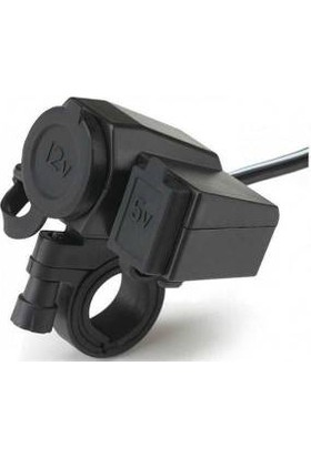 Prc Telefon Şarjı Usb & Çakmaklık Su Geçirmez