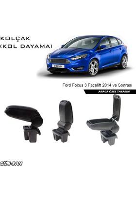 Omsa Ford Focus Facelift 2014 Ve Sonrası Orjinal Tip Kol Dayama ( Kolçak )