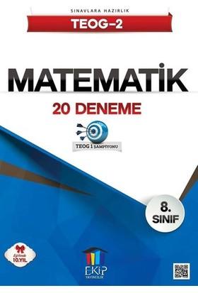 Ekip Yayınları Teog 2 Matematik 20 Deneme